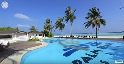 Best Tours Palm Beach resort 360 Maldive