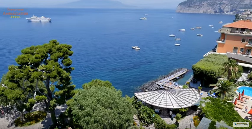Grand Hotel Ambasciatori Manniello Group Sorrento