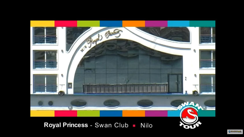 Motonave Royal Princess Swan Tour